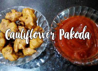 Crispy Cauliflower Pakoda Crispy Gobi Pakora