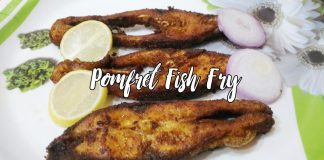 POMFRET FISH FRY VAVVAL MEEN VARUVAL