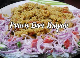 Prawn Dum Briyani
